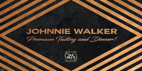 Johnnie Walker Premium Tasting and Dinner! tickets