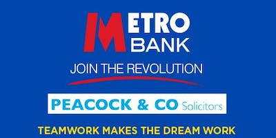 Metro Bank Epsom and Peacock & Co Solicitors Networking Event