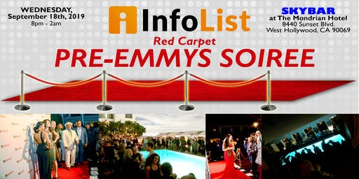 Red Carpet PRE-EMMYS SOIREE: A High-End Networking Event with Producers, Writers & Execs from Your Favorite TV Shows!