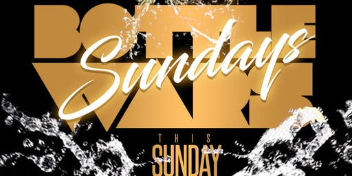 The All New Bottle War Sundays @ Medusa Lounge this Sunday