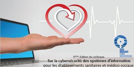 5ème Colloque cybersécurité en santé billets