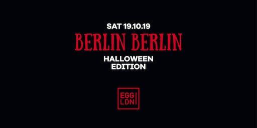 Berlin Berlin Halloween Edition W/ Pornceptual