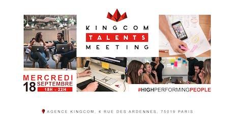 Kingcom Talents Meeting billets