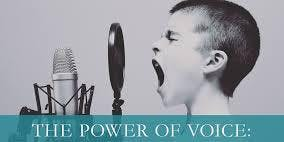 THE POWER OF YOUR VOICE: Find your Voice, Share your Story, Impact your Audience