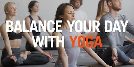 Yoga at Exchange Quay - Early Class tickets