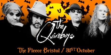 The Quireboys Unplugged Halloween Show tickets