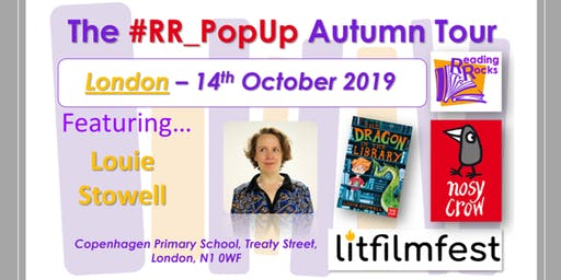 #RR_Popup with Nosy Crow and LitFilmFest - London