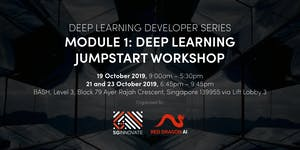 Deep Learning Jumpstart Workshop (19, 21 and 23...