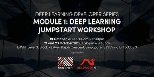 Deep Learning Jumpstart Workshop (19, 21 and 23 October 2019)