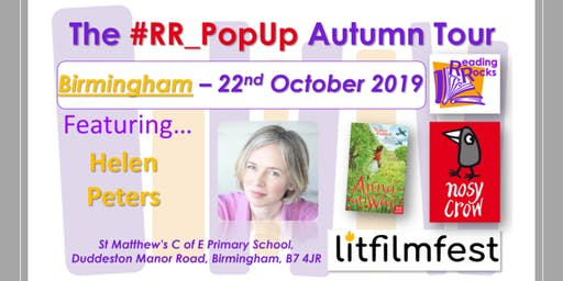 #RR_Popup with Nosy Crow and LitFilmFest - Birmingham