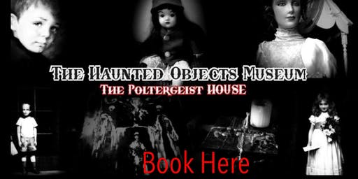 GHOST HUNT WITH OPTIONAL SLEEPOVER AT THE HAUNTED MUSEUM 24/1/2020