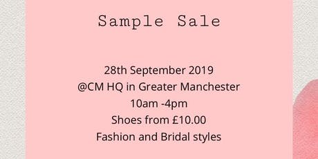 CHARLOTTE MILLS SAMPLE SALE tickets