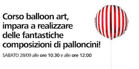 Corso di balloon art con Flying Tiger Copenhagen biglietti