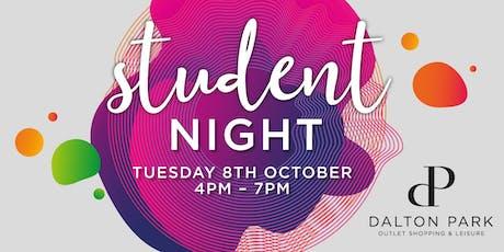 Student Night at Dalton Park tickets