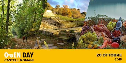 OPEN DAY VISIT CASTELLI ROMANI 2019 - Eventi gratis per tutti