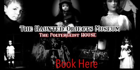 GHOST HUNT WITH OPTIONAL SLEEPOVER AT THE HAUNTED MUSEUM 7/3/2020 tickets