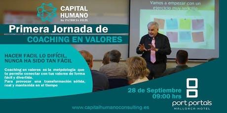 Primera Jornada de Coaching en Valores en Palma de Mallorca Tickets