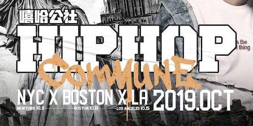 雪加SNOWPLUS-嘻哈公社2.0 全美巡演Hip Hop COMMUNE (Boston)