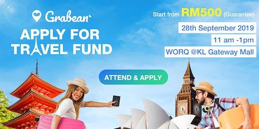 Grabean Travel Fund Event