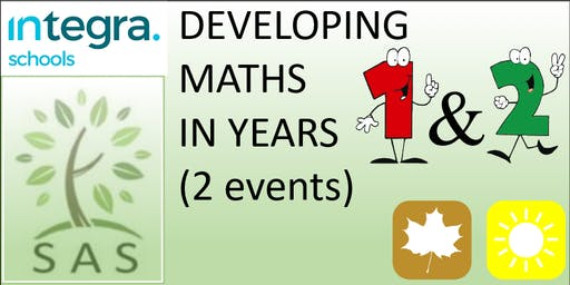 Maths in Y1/2 (2 session course)