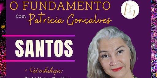 Curso O Fundamento com Patrícia Gonçalves em Santos, SP