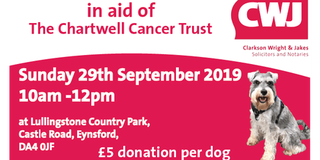 Charity Dog Walk in Aid of Chartwell Cancer Trust tickets