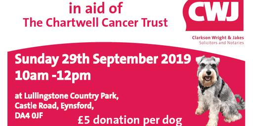 Charity Dog Walk in Aid of Chartwell Cancer Trust