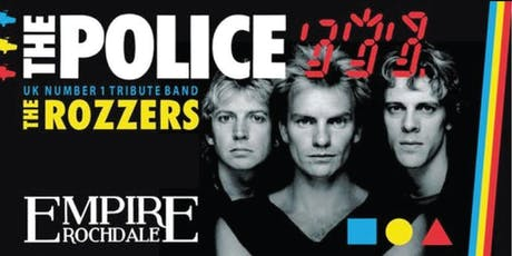 The Police - Number 1 tribute The Rozzers tickets