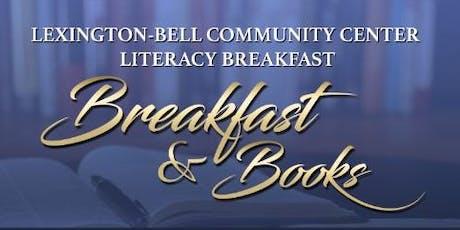 Lexington-Bell Community Center Breakfast and Books Literacy Breakfast 2019 tickets