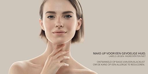 Demo Les Couleurs de Noir met professionele Make-Up artieste