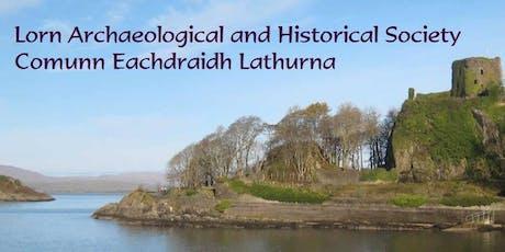 Local history Talk :  Lukasz Banazek- 'Recent Excavations around Argyll' tickets