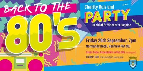 Back to the 80s Party Night tickets