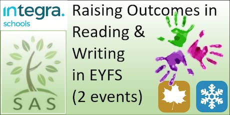 EYFS - Raising Outcomes in Reading and Writing (2 session course) tickets