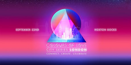Colours of Love City Series LONDON: Equinox eve one-day urban retreat  tickets
