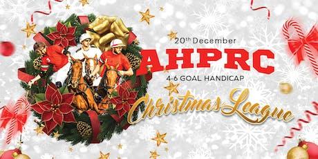 AHPRC Christmas League 2019 tickets