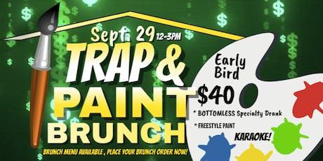 Trap N Paint Brunch tickets