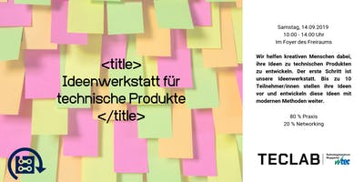 """Ideenwerkstatt für technische Produkte mit Tilo van Ekeris """"Unternehmensberatung für Digitalisierung"""""""