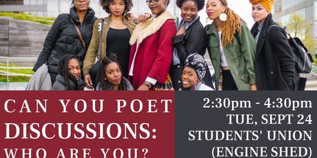 Can You Poet Discussions: Who Are You? tickets
