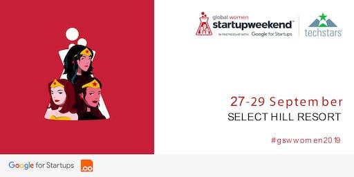 Techstars Startup Weekend Tirana Women 27-29 Sept 2019
