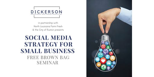 Social Media Strategy for Small Business (free event)