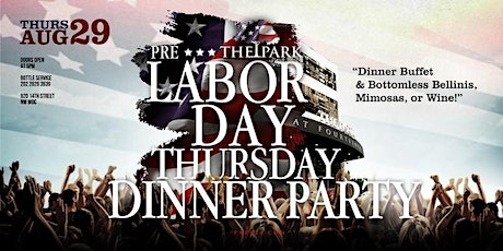 PrimoEvents: The Dinner Party Thursday at The Park! tickets