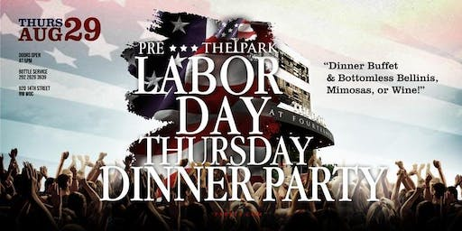 PrimoEvents: The Dinner Party Thursday at The Park!