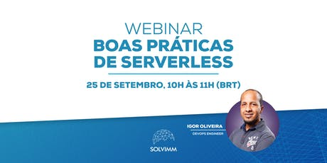 [Webinar] Boas Práticas de Serverless bilhetes