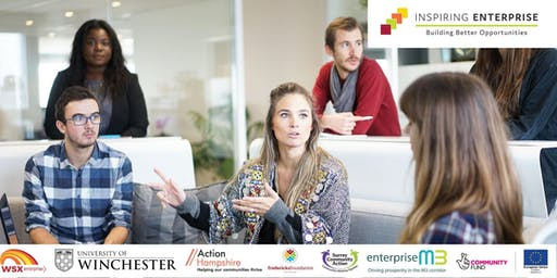 Inspiring Enterprise Confidence Building, 2 part workshop 15th and 29th January