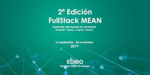 2º Edición FullStack MEAN – Desarrollo web basado en JavaScript
