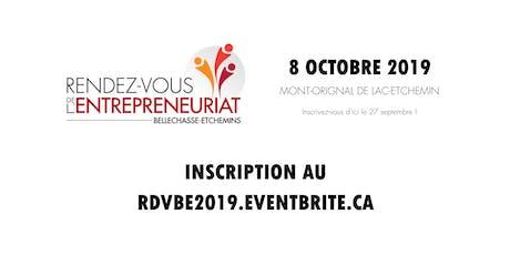 Rendez-vous de l'entrepreneuriat Bellechasse-Etchemins 2019 billets