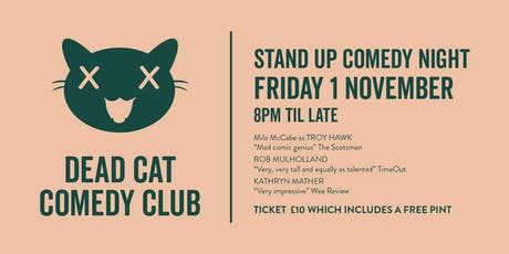 Dead Cat Comedy at Seven Bro7hers Tap tickets