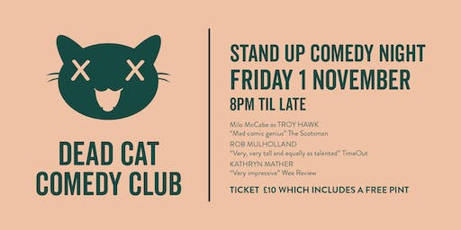 Dead Cat Comedy at Seven Bro7hers Tap