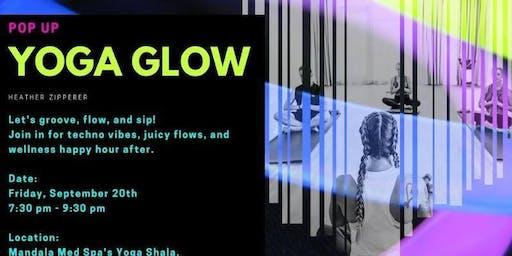 Yoga Glow + Happy Hour