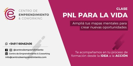 PNL para la vida entradas
